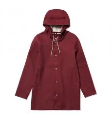 Stutterheim Stockholm Raincoat Burgundy