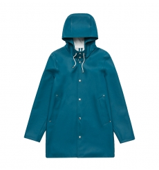 Stutterheim Stockholm Raincoat Petrol Blue