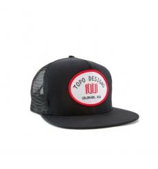 Topo Designs Snapback Hat Black