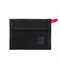 Topo Designs Velcro Wallet Black