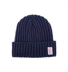 Topo Designs Wool Beanie Navy