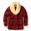 Filson Wool Packer Coat Red/Black