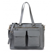 Dames Laptoptas Olivia Cool Gray