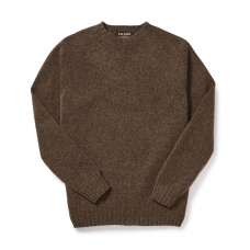 Filson 4gg Crewneck Sweater DarkWalnut