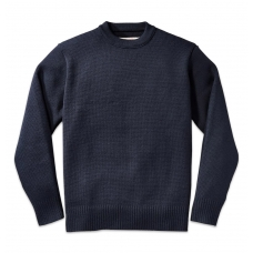Filson Crew-Neck Guide Sweater Navy