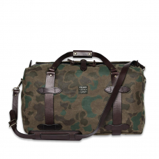 Filson Waxed Rugged Twill Duffle Bag Medium 20226934-Dark Wax Shrub Camo