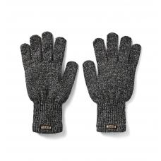 Filson Full Finger Knit Gloves Charcoal