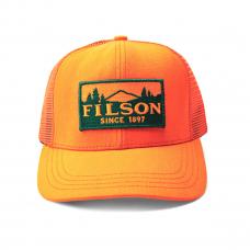 Filson Logger Mesh Cap 11030237-Blaze Orange