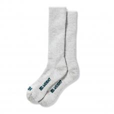 Filson Mediumweight Traditional Crew Sock Gray Heather