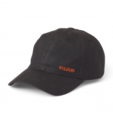Filson Oil Tin Low-Profile Cap 20172158-Black