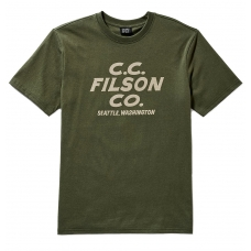 Filson Outfitter Graphic T-shirt Otter Green