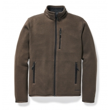 Filson Ridgeway Fleece Jacket Dark Brown