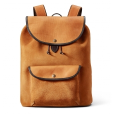 Filson Rugged Suede Backpack 11070435 Saddle Brown