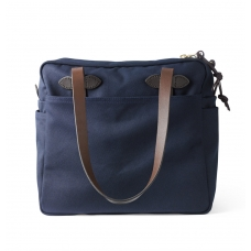 Filson Tote Bag With Zipper 11070261-Navy
