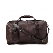 Filson Weatherproof Leather Duffle Bag Medium 11070397-Sierra Brown