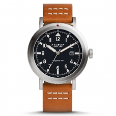 Filson The Scout Watch 10000334 Navy Dail - Bridle Leather Strap