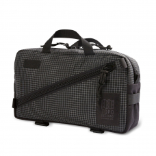 Topo Designs Quick Pack Black/White Ripstop