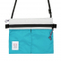 Topo Designs Accessory Shoulder Bag White/Turquoise
