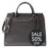 Leren Dames Laptoptas Hannah 13 inch donkerbruin Sale 50% OFF
