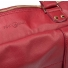 Leren Dames Laptoptas Sarah samba red detail