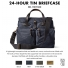 Filson 24-Hour Tin Briefcase 11070140 Navy color-swatch and description