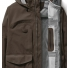 Filson 3-Layer Field Jacket Brown detail