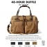 Filson 48-Hour Duffle 11070328 Tan color-swatch and description