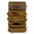 Filson Alcan Tin Cloth Tool Roll 20167378-Dark Tan inside