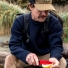 Filson Crew-Neck Guide Sweater 11010691 Navy back