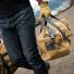 Filson Rugged Twill Duffle Small 11070220 Tan lifestyle