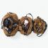 Filson Duffles Tan small - medium- large open with gear