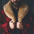 Filson Lined Wool Packer Coat Red/Green/Dark Brown 2020/2021 collar
