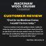 Filson Mackinaw Cruiser Dark Charcoal customer review