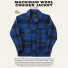 Filson Mackinaw Cruiser Jacket Cobalt Black New Color