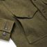 Filson Mackinaw Cruiser Jacket Forest Green sleeve