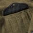 Filson Mackinaw Cruiser Jacket Forest Green pocket detail