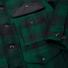 Filson Mackinaw Cruiser Jacket Green Black front detail