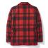 Filson Mackinaw Cruiser Jacket Red Black back