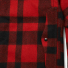 Filson Mackinaw Cruiser Jacket Red Black back detail