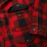 Filson Mackinaw Cruiser Jacket Red Black front pocket
