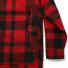 Filson Mackinaw Cruiser Jacket Red Black back pocket