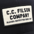 Filson Mesh Snap-Back Logger Cap 20172157 Black logo