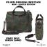 Filson Waxed Rugged Twill Original Briefcase 20226928-Dark Wax Shrub Camo Limited Edition