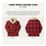 Filson Wool Packer Coat Red/Black Plaid explanation