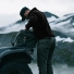 Filson Ridgeway Fleece Jacket Black lifestyle
