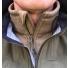 Filson Ridgeway Fleece Jacket Ochre lifestyle detail