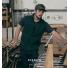 Filson Ridgeway Fleece Vest Spruce lifestyle