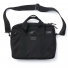 Filson Ripstop Nylon Compact Briefcase 20203678-Black front with shoulderstrap