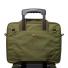 Filson Ripstop Nylon Compact Briefcase 20203678-Surplus Green rear trolley strap slides