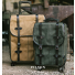Filson Rugged Twill Rolling 4-Wheel Check-In Bag Tan and Carry-On Bag Otter Green